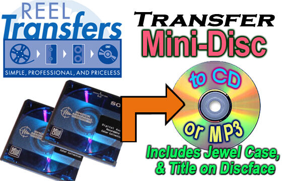 Convert Audio MINI Disc to CD/MP3
