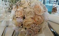 Bouquet Gioiello Davvero Unico In Diversi Colori E Materiali -  - ebay.it