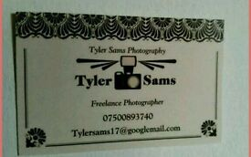 Amature photographer for hire