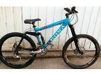 Kona downhill bike