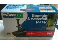 Hozelock Fountain & Waterfall Pump 1500