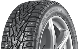 4 Studded Snow Tires - Mitubishi Mirage - With Factory Rims
