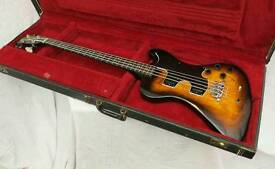 Very rare Vintage Gibson RD Artist Bass Guitar 1978 plus OHSC & Manual.