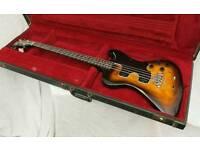 Very rare Vintage Gibson RD Artist Bass Guitar 1978 plus OHSC & Manual.