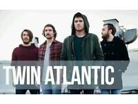 2 tickets for twin atlantic gig at hull uni