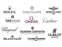 WANTED! Various Luxury Brand Watches Scotland - (Rolex, Omega, AP, Patek, Breitling, Hublot Etc..)