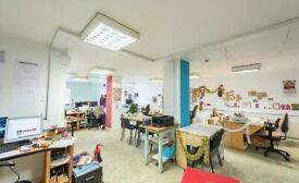 Blighty co-working space dedicated desks/hot desks Tottenham Seven Sister North London