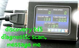 Land rover discovery td5 nanocom diagnostics scan £20