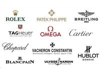 WANTED! Various Luxury Brand Watches Scotland - (Rolex, Omega, AP, Patek, Breitling, Hublot Etc..)