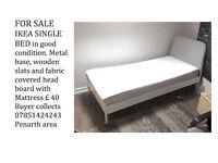 Single IKEA bed