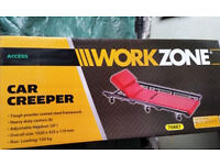 Brand New unwanted gift of a Work Zone car creeper as pictured (Bath BA2 area)