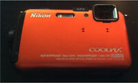 Nikon Coolpix AW100 point and shoot camera