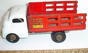 Antique 1950s Structo Pressed steel toy Truck London Ontario image 1