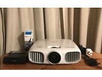 Epson EH-TW6100W FULL HD 3D Projector, Wireless Transmitter and 2 x 3D glasses*Immaculate Condition*