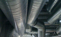 Peterborough HVAC Installations, Duct worker / Side work.