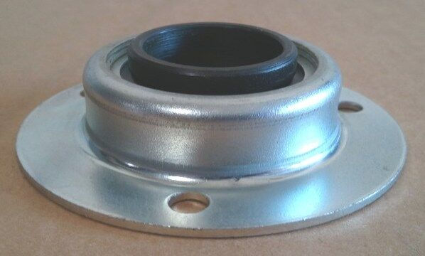 """1 1/8"""" ID BEARING IN 3 HOLE METAL FLANGE - LOT OF 2"""