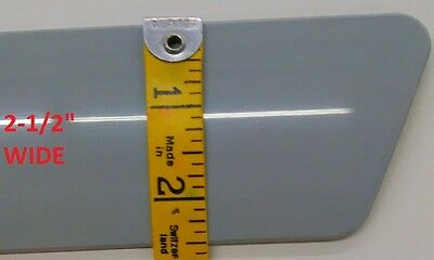 UNPAINTED (GRAY) BODY SIDE TRIM Moldings For SILVERADO 2500 HD EXT CAB 2007-2013