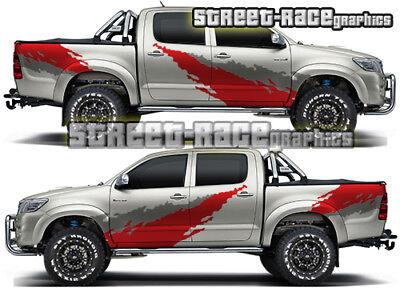 Toyota Hilux 018 Side Cab Amp Tub Mud Splatter Grunge