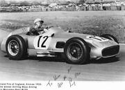 Stirling Moss Signed