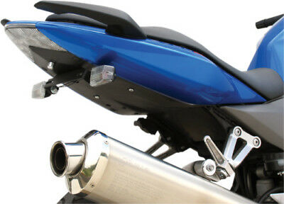 Used, Targa Fender Eliminator Tail Black/Clear fits Kawasaki ZR750K Z750S 2005-2006 for sale  Hinckley