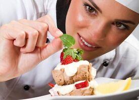 Relief Pastry Chef De Partie £12ph