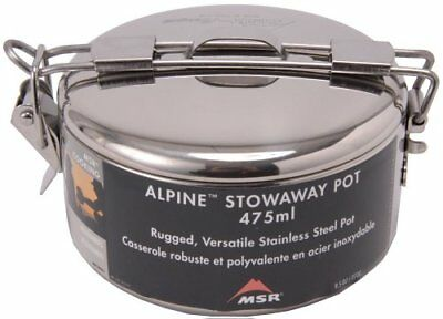 Stowaway Pot 475Ml  Camping Hiking Kitchen Travel Cooking Gear Food Hot