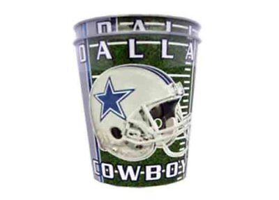 NFL Dallas Cowboys 3-ounce, 2 pack cups Tailgating Party Helmet Stars Grey Blue Dallas Cowboys Party Pack