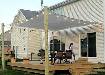 Sun Shade Sail UV Patio Outdoor Top Canopy Rectangle Square