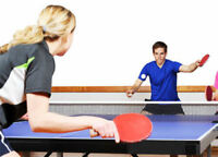 Looking for someone to play table tennis (Ping pong)