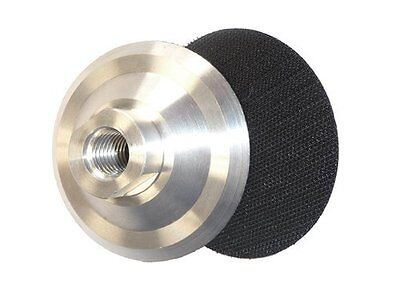 4 Inch Aluminum Backer Pad 58-11 Thread For Diamond Polishing Buy 5 Get 1 Free