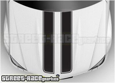 BSU002 Citroen bonnet racing stripes graphics stickers C1 C2 DS3 DS4 Relay van