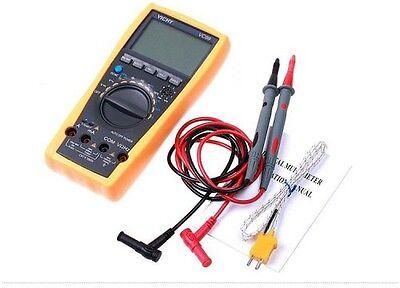 Vc99 6999 Auto Range Digital Lcd Voltmeter Multimeter Tester Ammeter Ac Dc Ohm