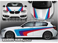 "BMW M3 GT2 M-Power Race Car Removable Wall Vinyl Decal Sticker 58/"" X 22/"""