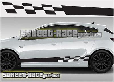 Vauxhall Corsa D Graphics stickers stripes DECALS OPEL VXR SXI GSi 1.2 1.4 1.6 D