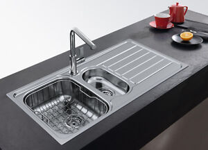 FRANKE SKX 651 Stainless Steel 1.5 Bowl Sink Pop-Up Waste&Overflow Brand New!!!