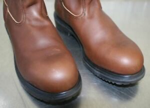 Brand New Never Worn Men's Red Wing Brown Pull On Boot Size 8