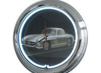 N-0284 190-sl - Decoración Retro Neón Reloj Clock De Pared Neon Taller -  - ebay.es