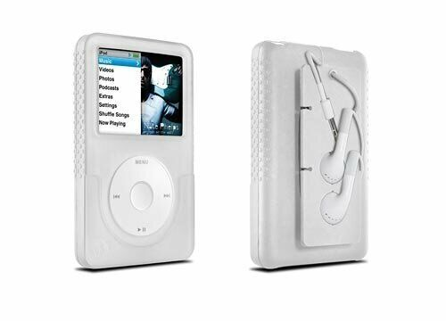 DLO Jam Jacket with Cord Management for 80/120/160 GB iPod classic 6G (Clear)
