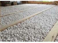 Details about 10m3 non-combustable expanded glass bead aggregate/insulation, loose fill/screed
