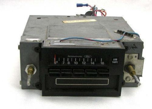 Ford 8 Track Radio eBay