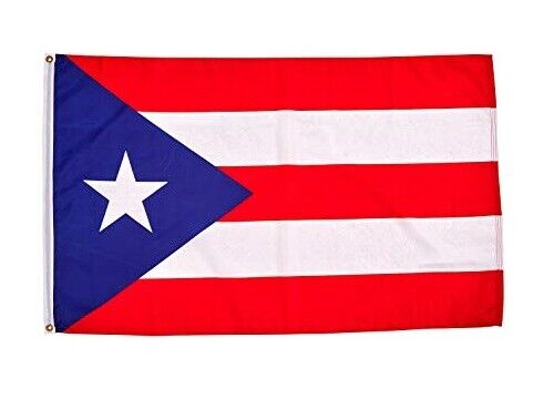 Puerto Rico Flag 3x5 Ft w/ Grommets - Puerto Rican Banner -