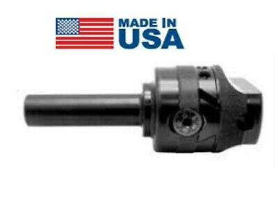 Made In Usa 2-12 X 58 Hole X 34 Integrated Shank Precision Boring Head