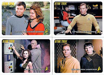 STAR TREK ORIGINAL 40TH ANNIVERSARY SET OF 110 CARDS