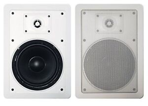 """Precision Acoustics PA265IW 6.5"""" 2-Way In-Wall Speakers (Pair)"""