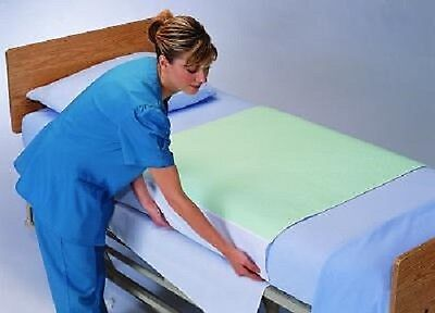 "NEW Washable Hospital Bed Pads Underpads 36 x 34 With Tuck in Flaps 18"" tuck und"