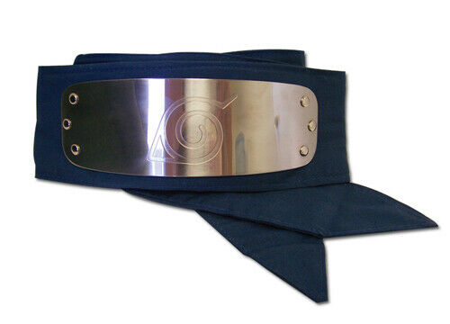 REAL Great Eastern GE Naruto Shippuden Leaf Village Logo Headband (Blue)