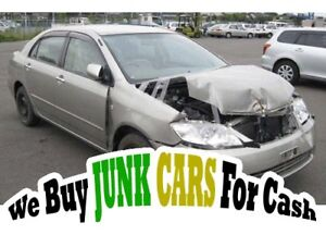Call us for your junk cars
