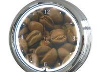 N-0304 Café Judías - Decoración Neón Reloj Clock De Pared Neon Taller -  - ebay.es