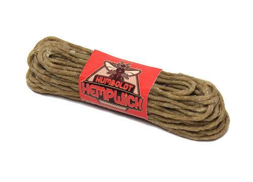 Humboldt Hemp Wick® - Heavy - 2mm - 20 feet - Bee Hemp Lighter Line Hempwick