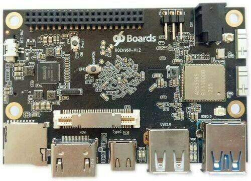 ROCK960 Board, Smallest RK3399 Solution 96Boards 2GB LPDDR3